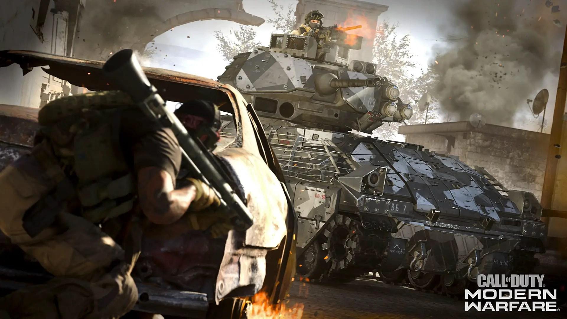 Modern Warfare Ground War mode has MAG vibes