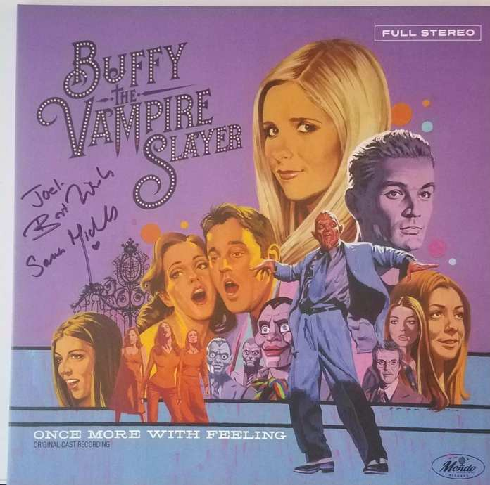 OMWF vinyl signed by SMG