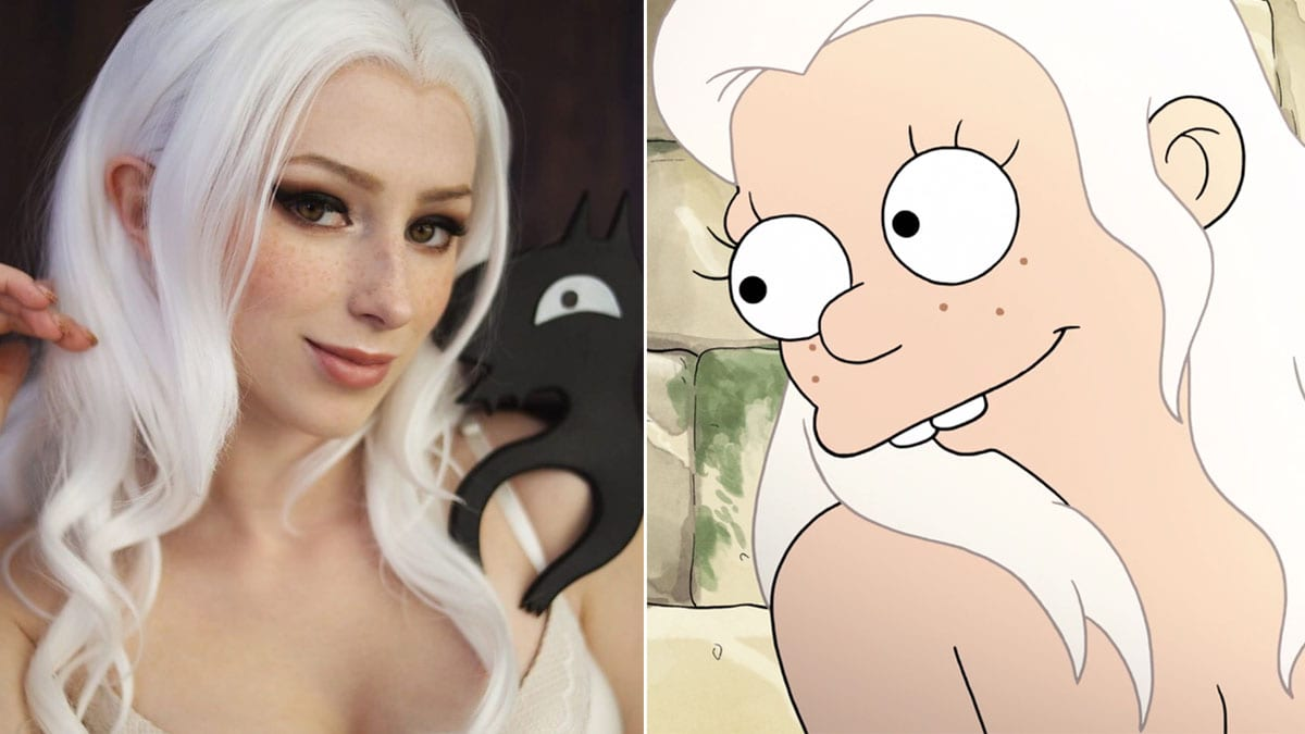 Princess Bean cosplay from Disenchantment, best and worst