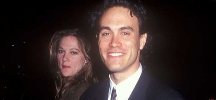 Brandon Lee with his wife