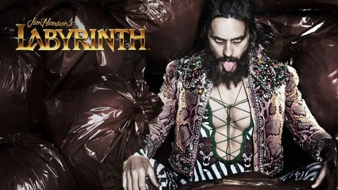 Jared Leto as Jareth in Labyrinth reboot