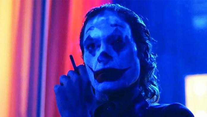 The Joker dance scene looks like a meth head tweaking out