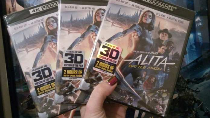 Alita sales are booming as copies are flying off shelves