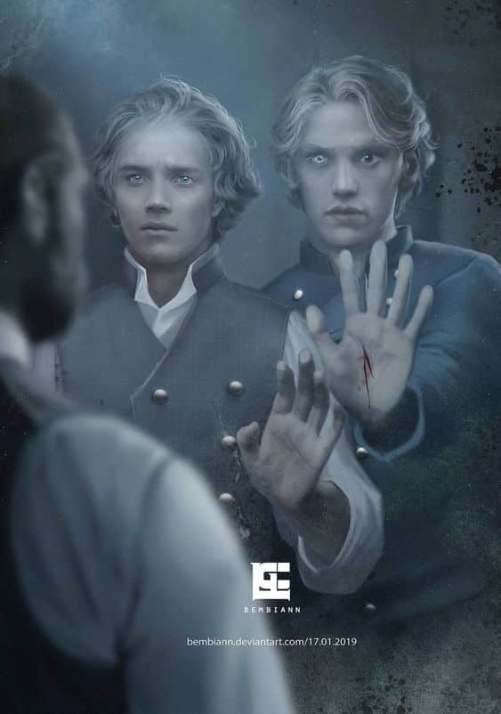Young Dumbledore and Grindelwald Fantastic Beasts 3
