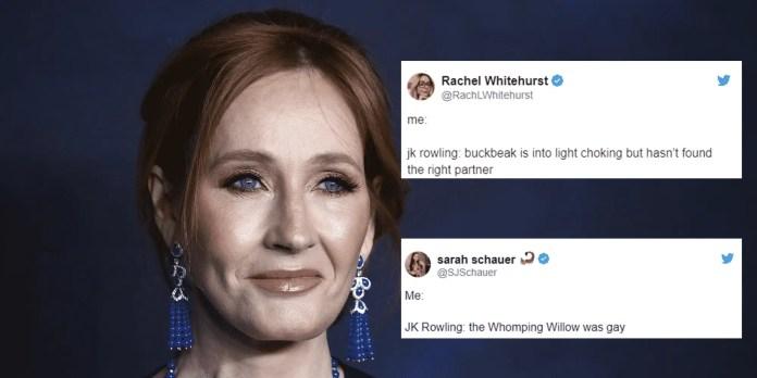 JK Rowling memes