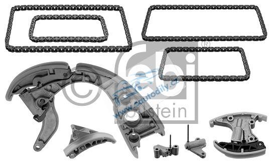 Rozvodový řetěz, sada rozvodů Audi 3.0 TDI, 2.7 TDI, 057109229
