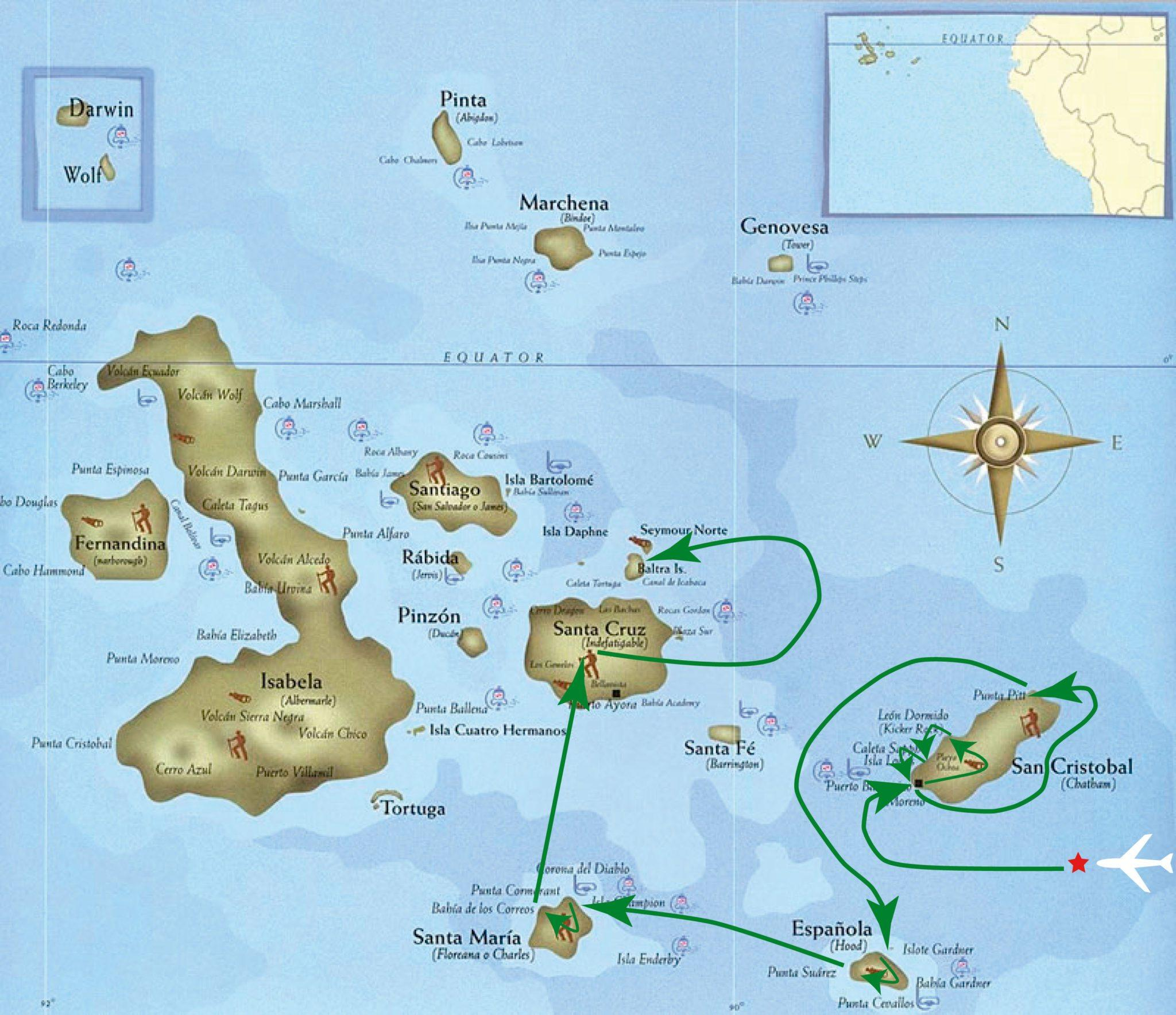 Galapagos Inca Trail To Machu Picchu And Easter Island Tour