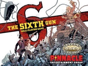 The Sixth Gun promo art