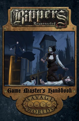 Cover of Rippers: Resurrected Game Master's Handbook