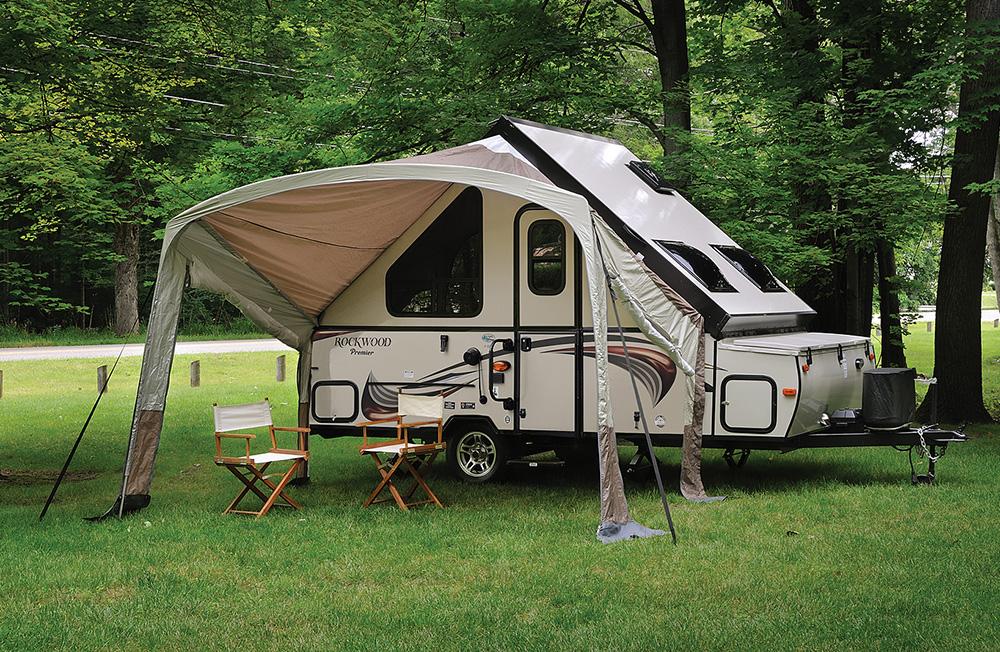AFrame Camper Trailers  Pop Up Campers Hard Side