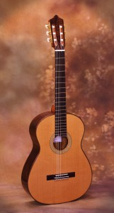 Ashley Sanders Classical Guitar - Savage Classical Guitar