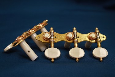 Alessi Tuning Machines - Oval Ivory F2
