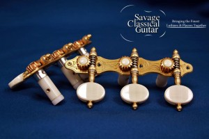 Alessi Tuning Machines by Savage Classical Guitar