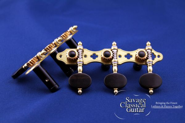 Alessi Tuning Machines – Oval Ebony F5