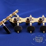 Alessi Tuning Machines - Hauser 8 Oval Ebony