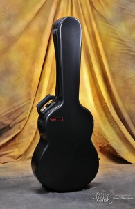 BAM 8002XL High Tech Black Carbon Classical Guitar Case