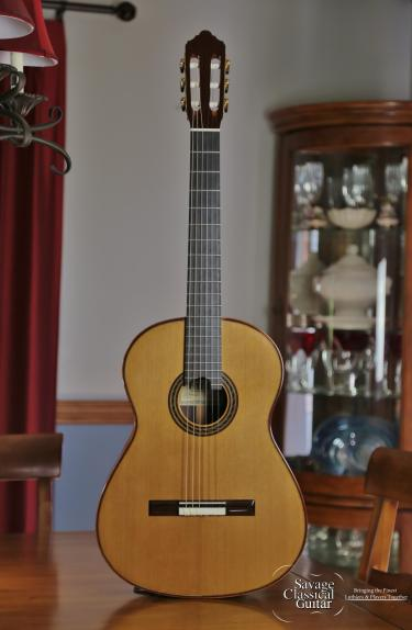 Kenny Hill Performance Classical Guitar #3871 Cedar 650mm
