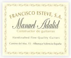 Manuel Adalid Classical Guitars