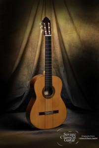 Dominique Field Classical Guitar #72