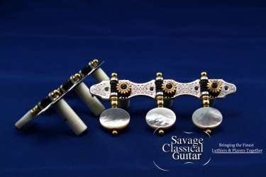 Used Rodgers Tuning Machines | Savage Classical Guitar