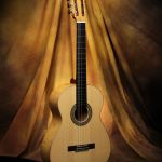 Ashley Sanders Classical Guitar #57 2014 Spruce with Burl Ash