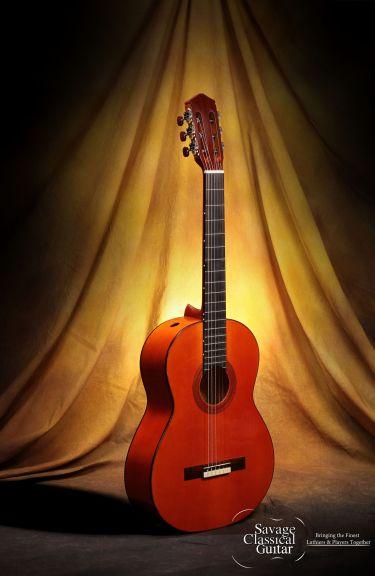 Darren Hippner Flamenco Guitar - #619 Santos