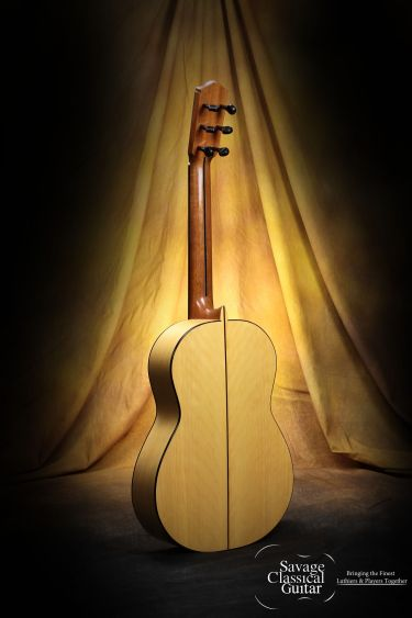 Darren Hippner Flamenco Guitar #677 Santos Hernandez