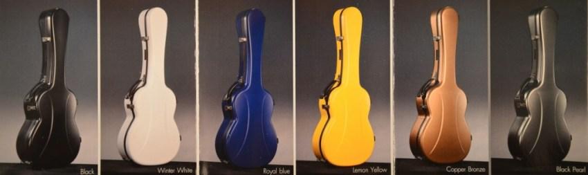 Visesnut Cases for Classical Guitar