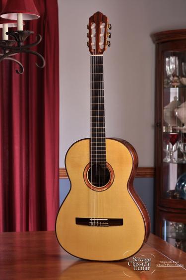 Sergei de Jonge Classical Guitar 2010 Spruce Brazilian RW