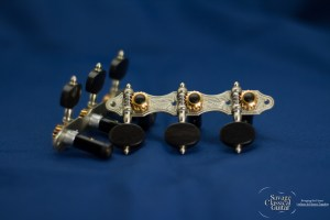 Alessi Tuning Machines - Hauser 6 Oval Ebony