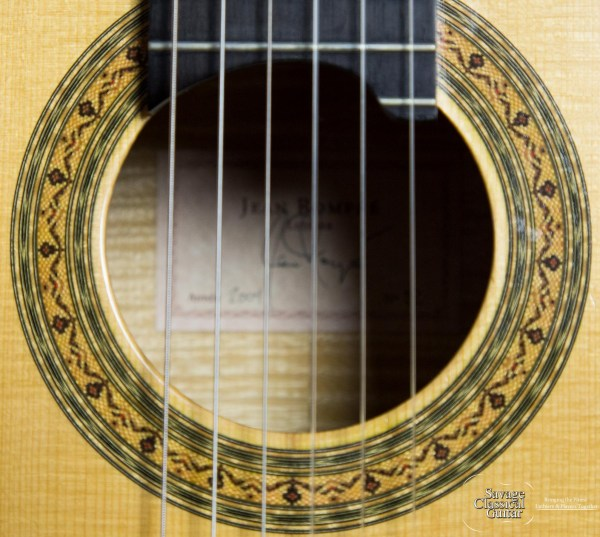 Jean Rompré Classical Guitar #92 2006 Spruce Flamed Maple