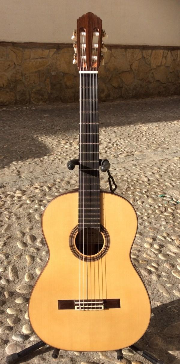 John Ray Classical Guitar #188 2015 Concert Model Spruce EIRW Rosewood