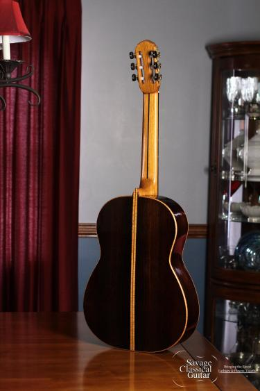 2008 Ken Whisler Classical Guitar #17