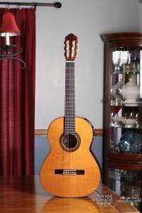 Kenny Hill Classical Guitar Player Series - 628mm Scale Length - Cedar w/EIRW