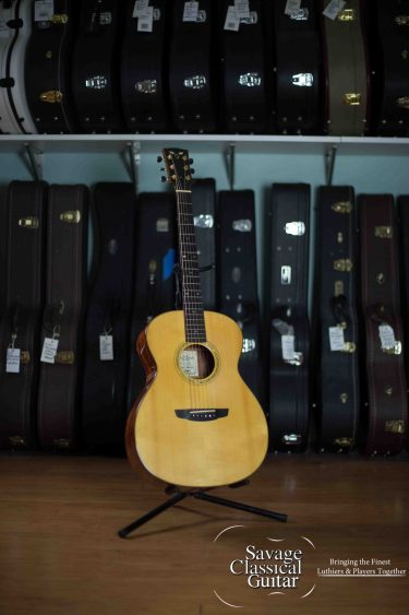 James Goodall Grand Concert Acoustic Guitar 2006 Spruce Bubinga Serial #BUGC4630
