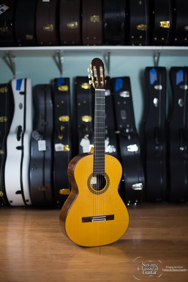 Angel Benito Aguado Classical Guitar 2000 1A Spruce CSA