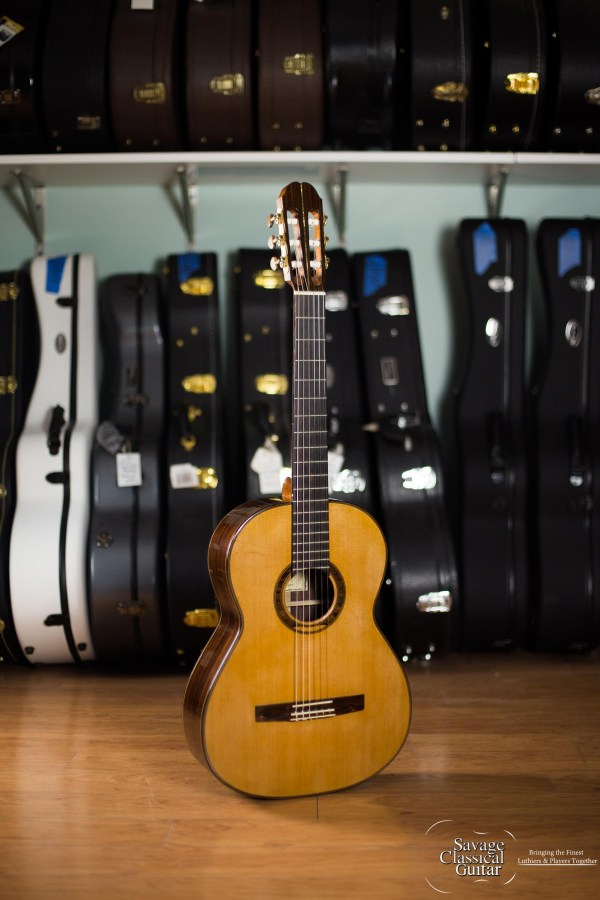 Sergei de Jonge Classical Guitar 2000 Cedar EIRW