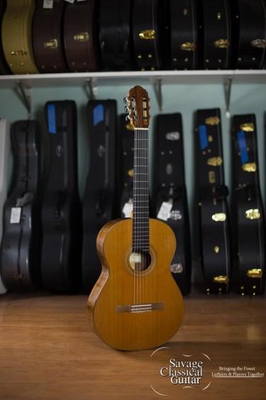 Frederich Holtier Classical Guitar #105 Cedar DT EIRW