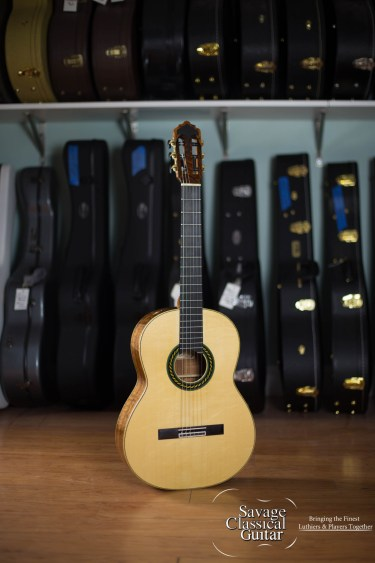 Peter Oberg Classical Guitar #132 Spruce Koa
