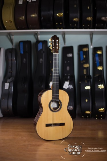 Randy Angella Classical Guitar #185 Spruce EIRW