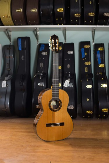 Kenny Hill Player Classical Guitar - 628mm Cedar with PORTS