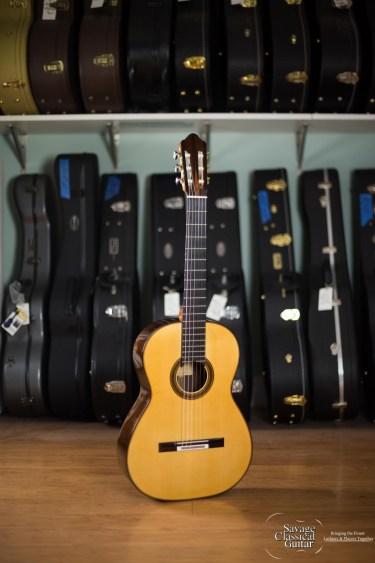 Michel Brück Classical Guitar #167 2012 Spruce EIRW DT