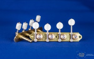 Alessi Mandolin Tuning Machines – Oval Ivory F-Style