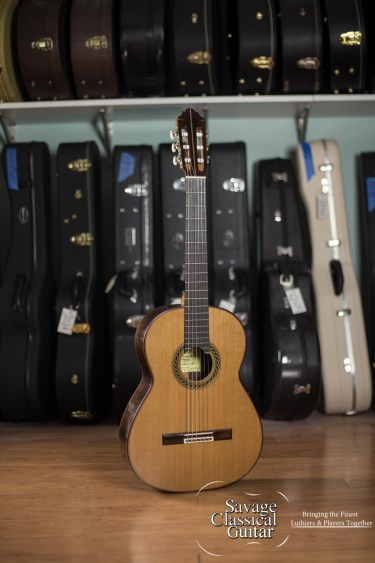 GV Rubio Classical Guitar Solista 2015 Cedar EIRW #22315