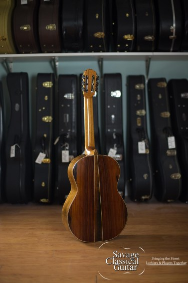 Darren Hippner Classical Guitar #481- Humphrey Model - Spruce CSA