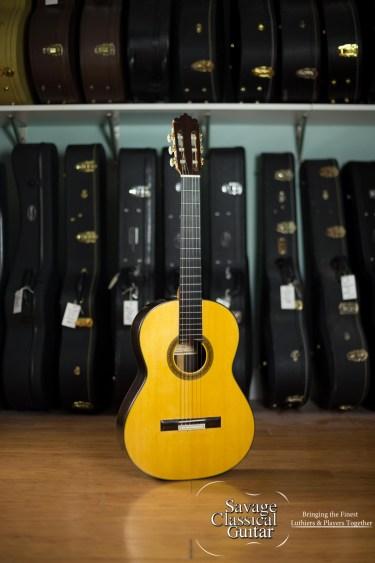 Mariano Tezanos Classical Guitar Maestro 2006 Spruce Pau Ferro