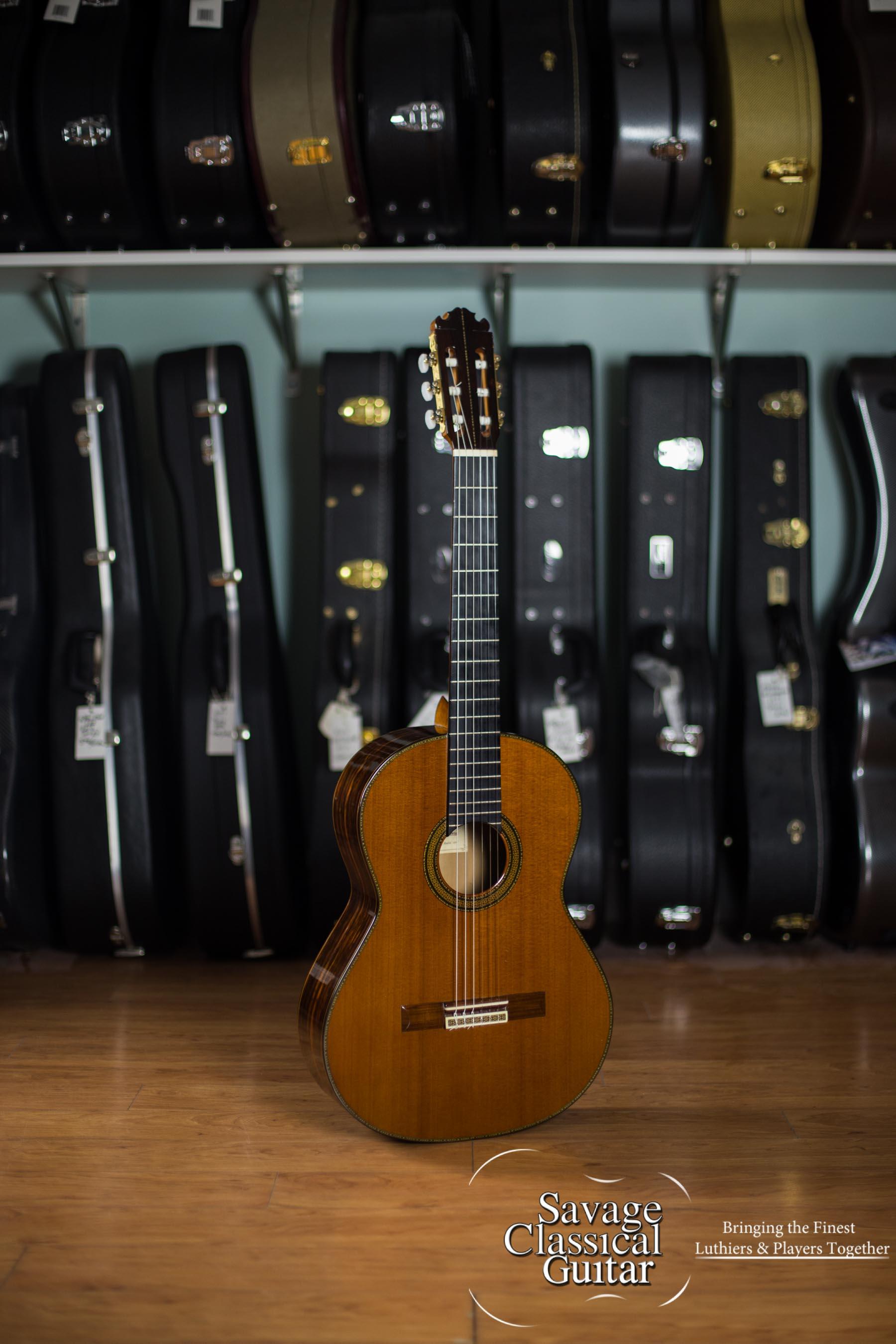 1985 Manuel Contreras Double Top Cedar CSA by Savage Classical Guitar