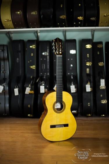 Darren Hippner Classical Guitar #745 Rodriguez Spruce Cocobolo