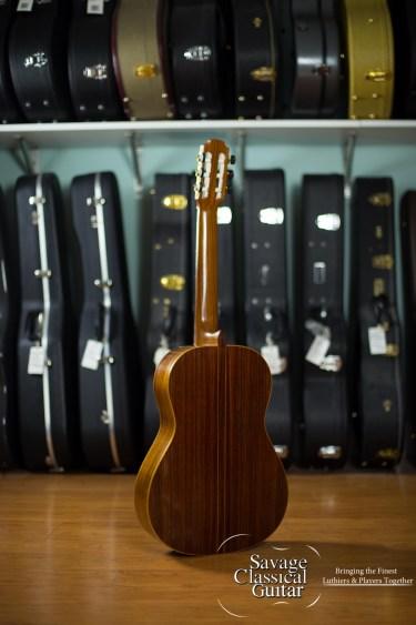 John Pete Barthell Classical Guitar #143 Cedar EIRW