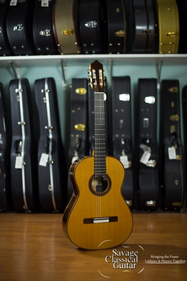 Kenny Hill Performance Classical Guitar #4084 Cedar 640mm